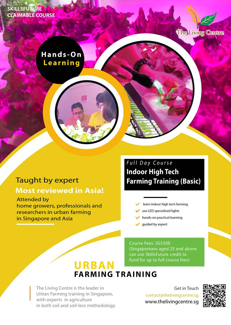 Indoor High Tech Farming Training Course